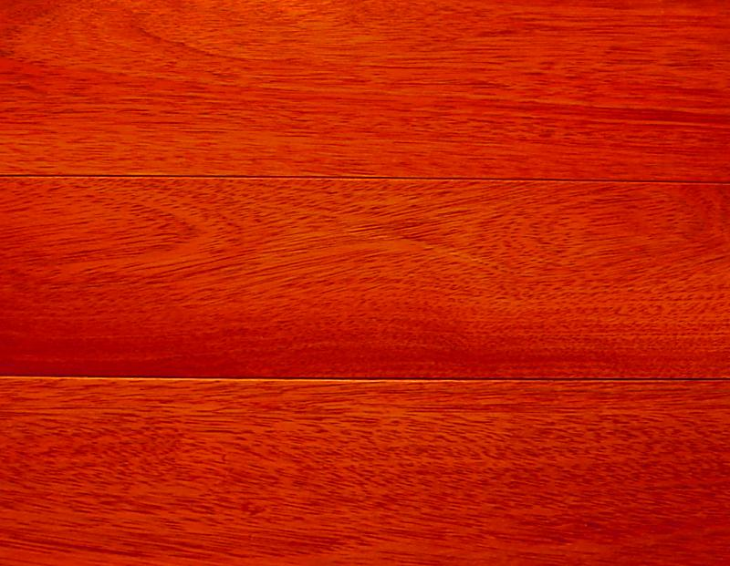 Santos Mahogany Prefinished Engineered Hardwood Flooring Photo