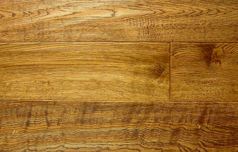 White oak prefinished hand scraped hardwood flooring for Prefinished oak flooring