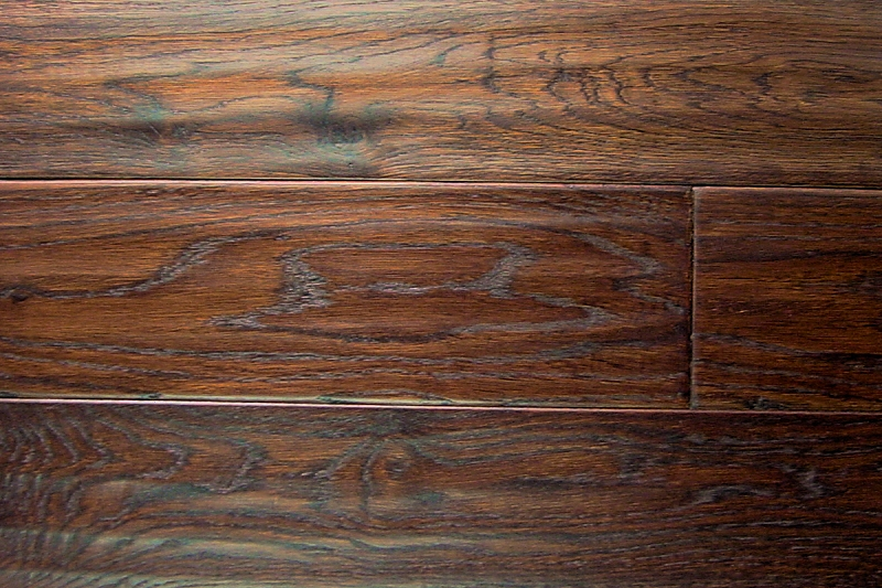 White Oak Prefinished Hand Scraped Hardwood Flooring