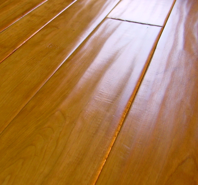 Photo - Duchess Collection Cherry Hand Scraped Hardwood Flooring Prefinished