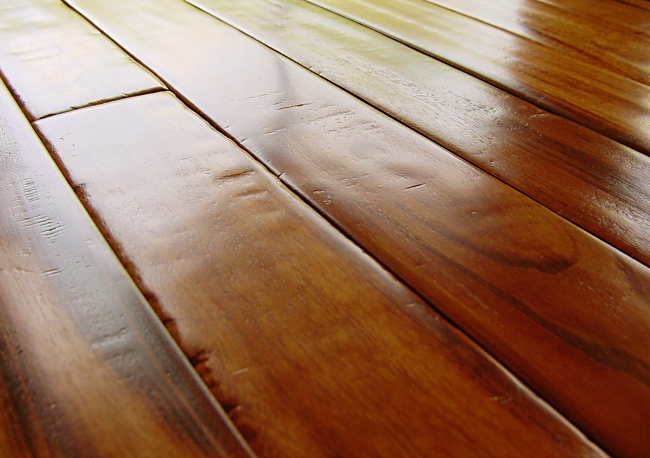 Photo - Duchess Collection Goncalo Alves Hand Scraped Hardwood Flooring Prefinished