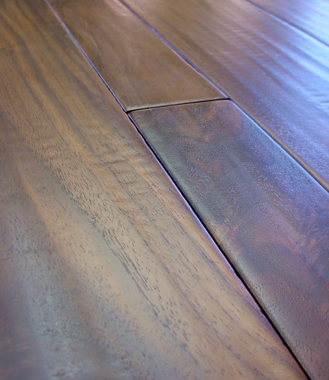 Photo - Duchess Collection Walnut Hand Scraped Hardwood Flooring Prefinished