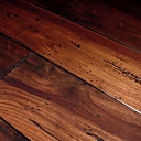 Custom Antique Distressed French Bleed Walnut Flooring in Chestnut Color