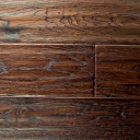 Provincial Collection Hand Scraped White Oak Flooring in Burnt Umber color