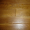 Custom Wire Brushed R&Q White Oak Flooring in Natural Color