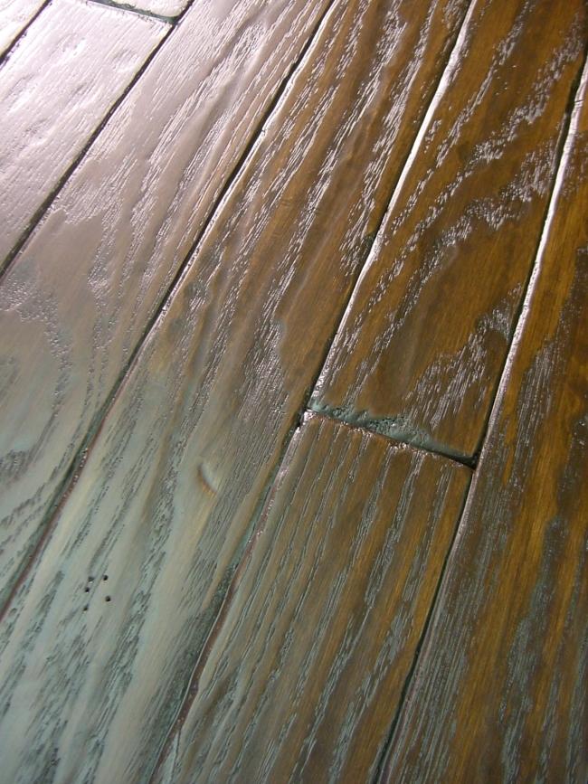 Distressed Hardwood Flooring provenza hardwood san diego Red Oak Prefinished Hand Scraped Distressed Hardwood Flooring Photo