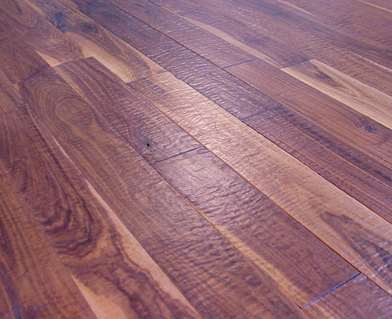 Camelot Collection Walnut Hand Scraped Hardwood Flooring Photo #23