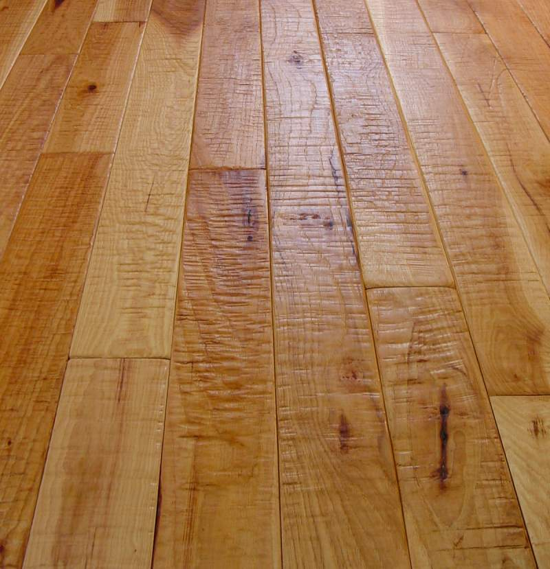 Camelot Collection Hickory Hand Scraped Hardwood Flooring Photo #5