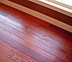 Hand Scraped Brazilian Cherry Flooring