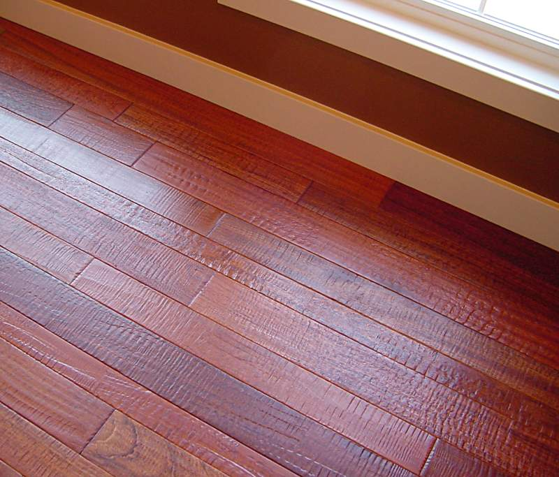 Camelot Collection Brazilian Cherry Hand Sed Hardwood Flooring Photo 6